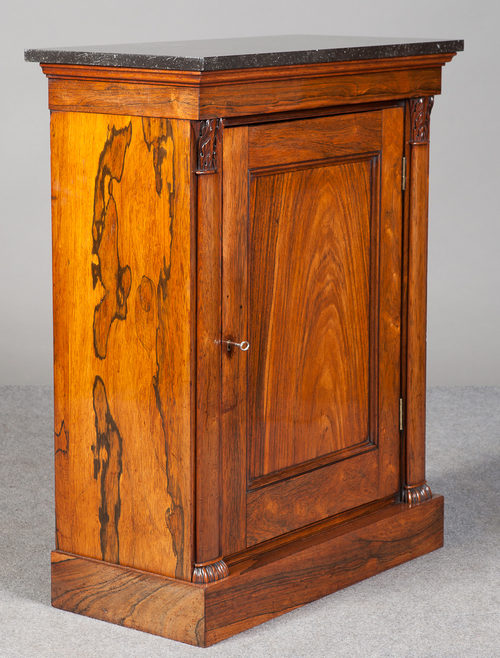 Incroyable Small Regency Side Cabinet Antique ...