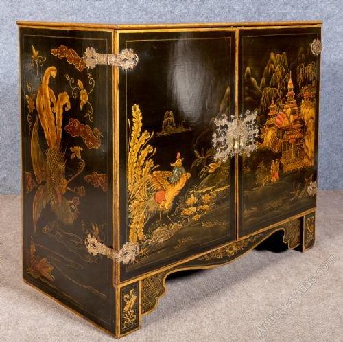 Stunning Chinoiserie Cabinet ...