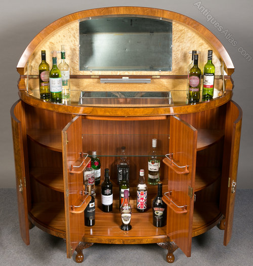 Superb Large Cocktail Cabinet Antique Drinks Cabinets ... - Superb Large Cocktail Cabinet - Antiques Atlas