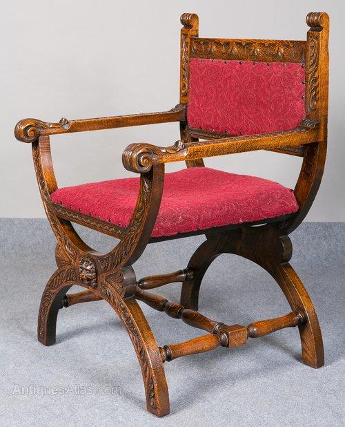victorian carved oak chair antiques atlas rh antiques atlas com Medieval Folding X Chair Plans Medieval Folding X Chair Plans