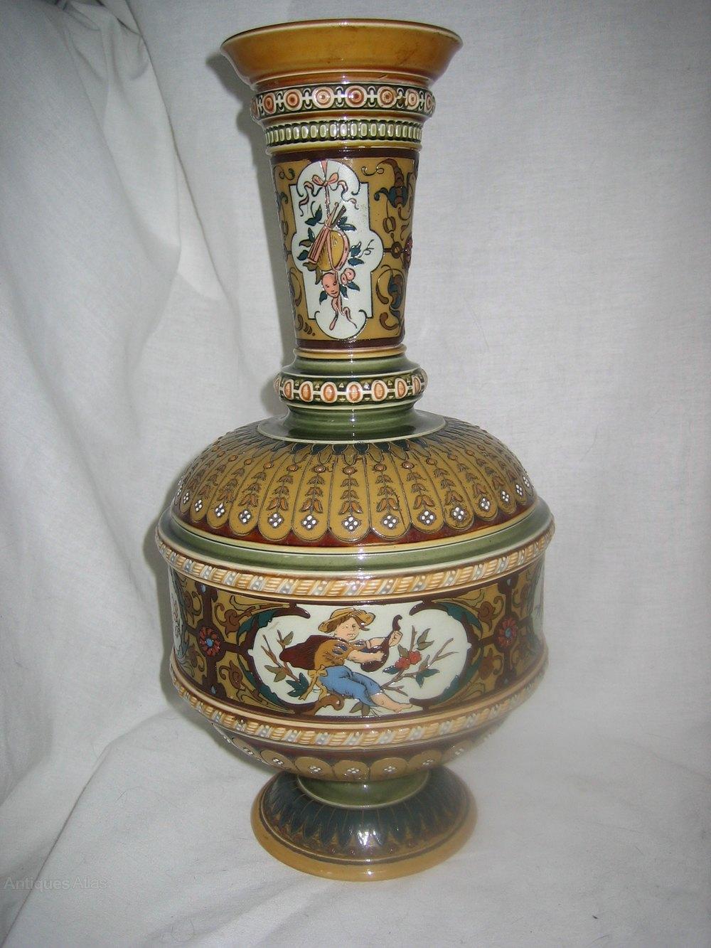 Antiques Atlas - Mettlach Vase