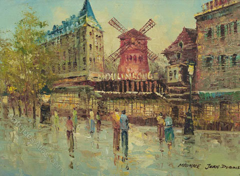 Artist Who Painted Moulin Rouge