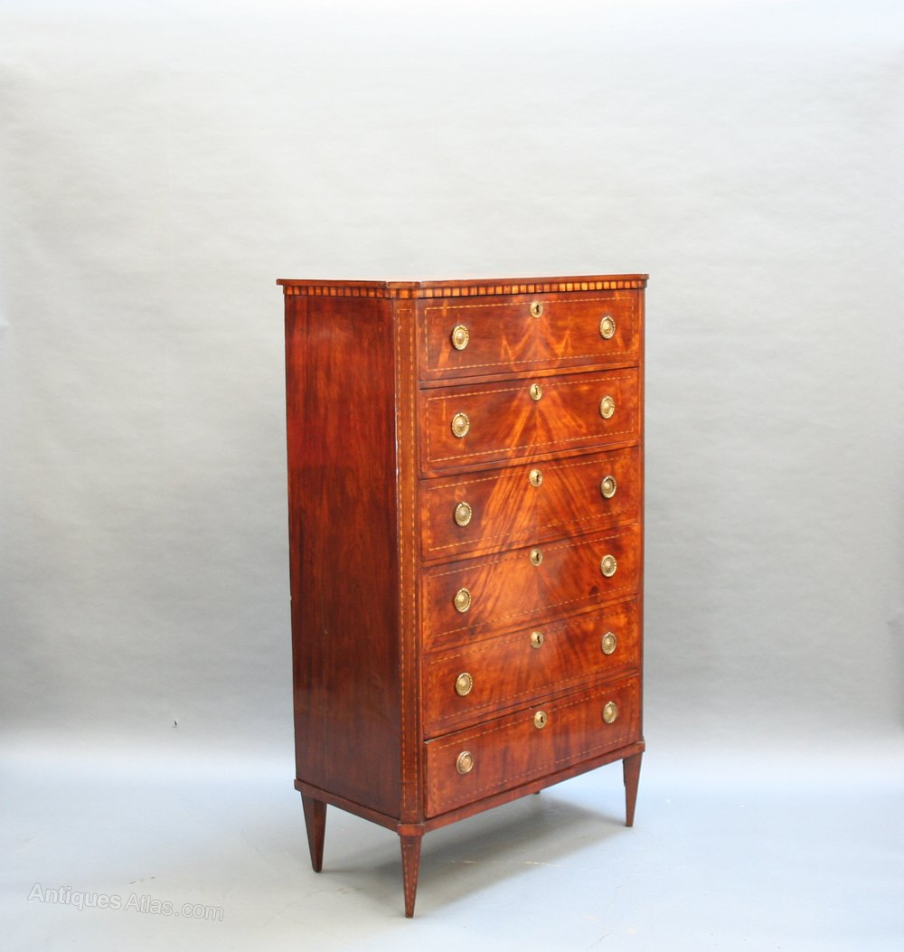 c19th french mahogany commode chest antiques atlas. Black Bedroom Furniture Sets. Home Design Ideas