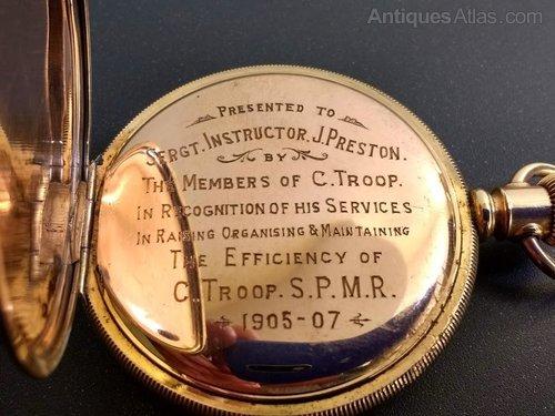 8fb7356ac Photos. Waltham Rose Gold Filled Half Hunter Pocket Watch Antique Half  Hunter Pocket Watches Waltham half hunter pocket watch rose gold filled ...