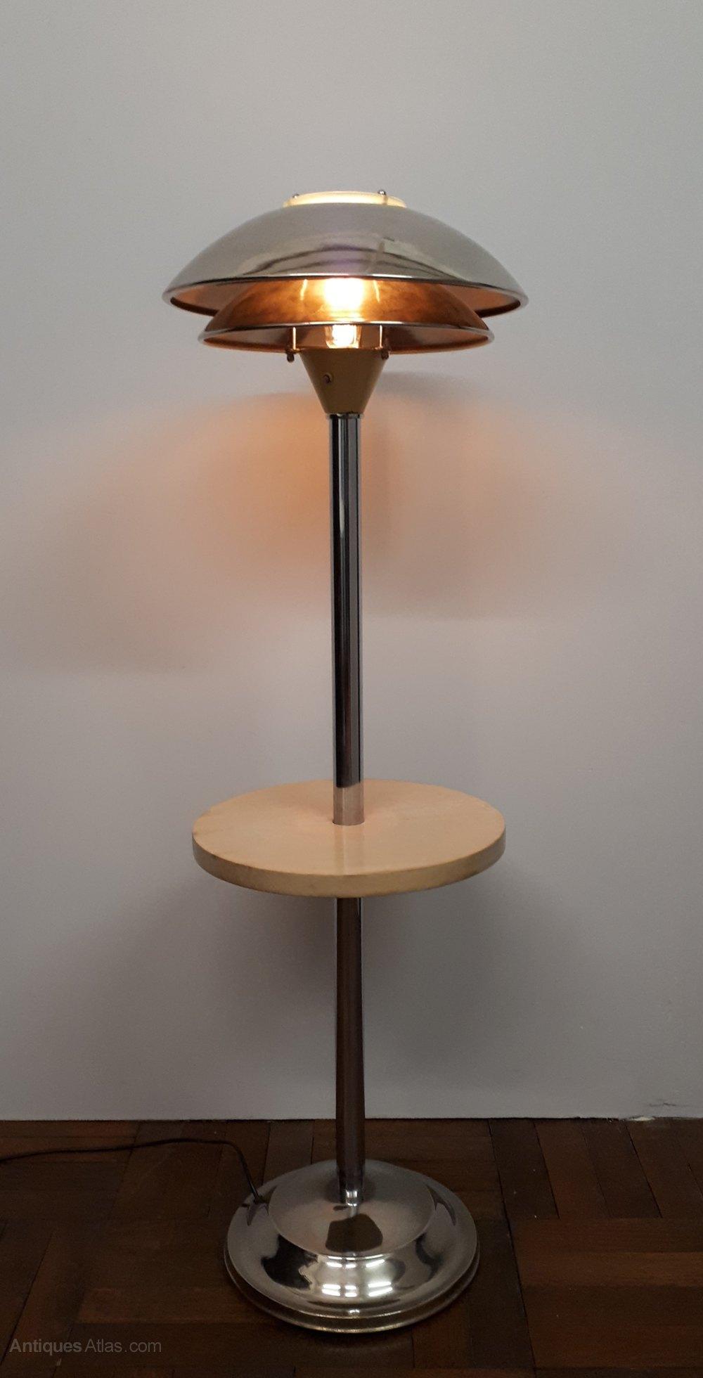 Antiques Atlas Art Deco Floor Lamp