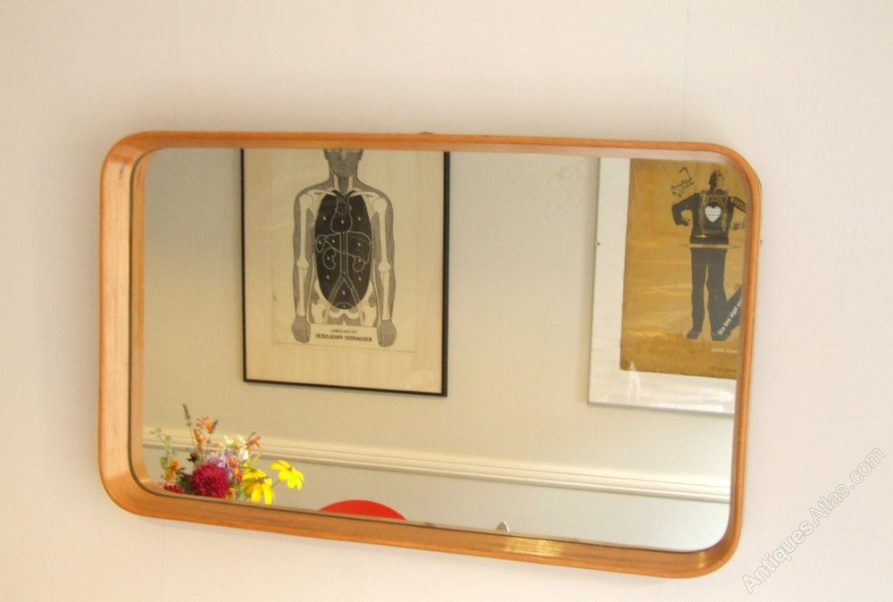 Antiques atlas mid century heavy good quality mirror for Mirror quality