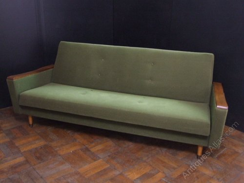 Antiques Atlas - Scandinavian 1960s Sofa Bed