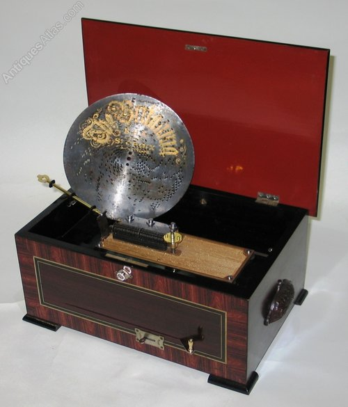 Antique Music Boxes Disc Musical Box
