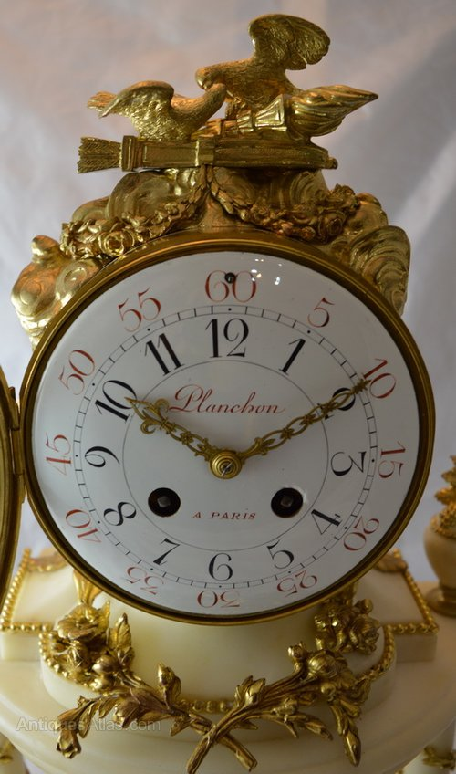 Antiques Atlas Planchon Of Paris Mantel Clock