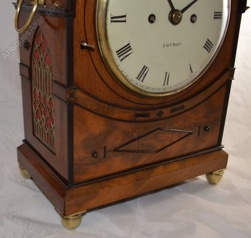 Antiques Atlas - Webster Cornhill London Georgian Bracket Clock