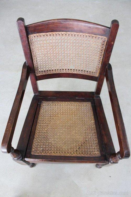 Antique Cane Commode Bedroom Chair Antique Commode Chairs ... - Antique Cane Commode Bedroom Chair - Antiques Atlas