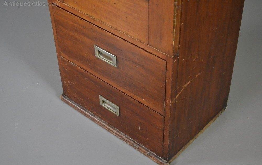 Narrow mahogany wardrobe hall robe antiques atlas for Mirror 60cm wide