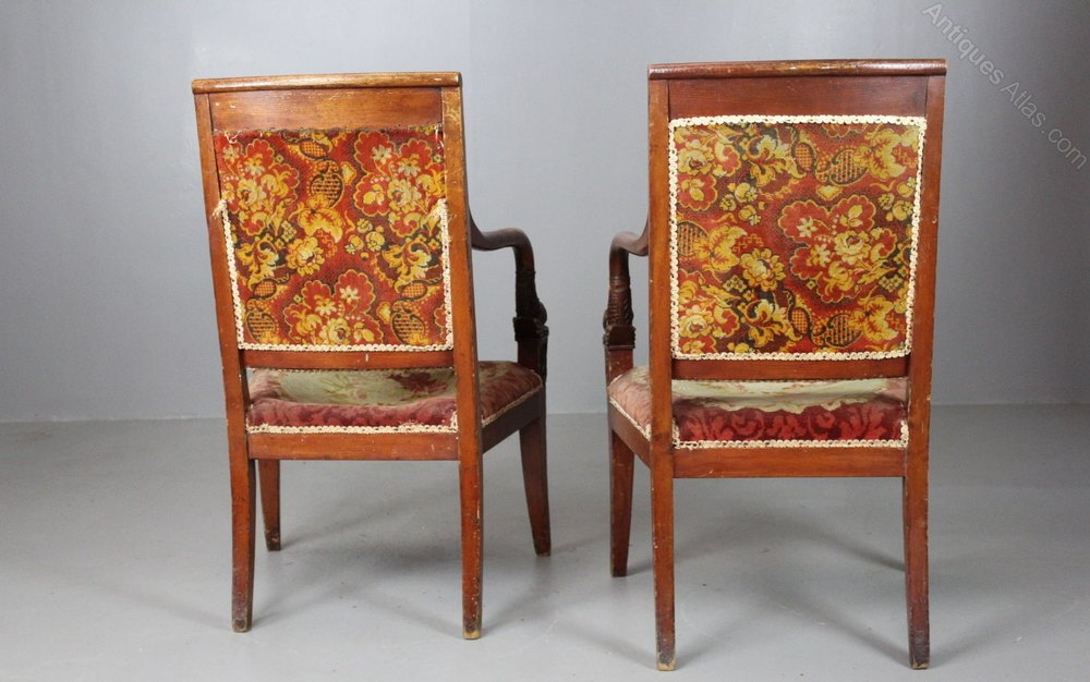 Pair French Chairs 19th Century Antiques Atlas