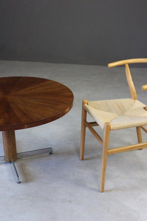 Antiques Atlas - Retro Teak Round Coffee Table
