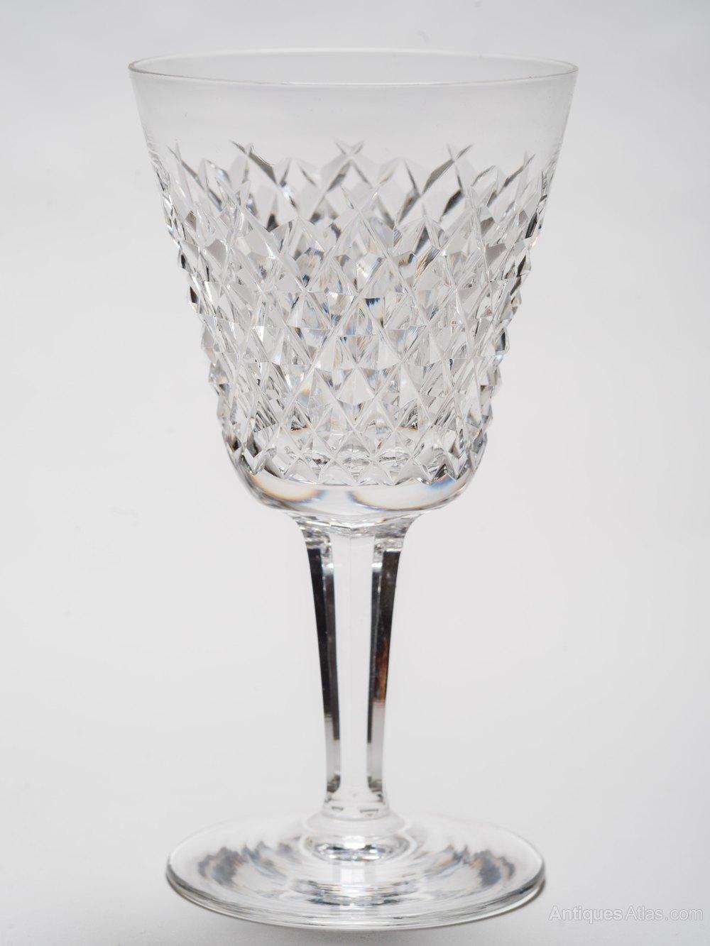 Antiques Atlas - Set Of 8 Vintage Waterford Crystal Wine ...