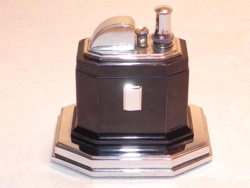 Antiques Atlas Art Deco Ronson Chrome Touch Tip Table Lighter