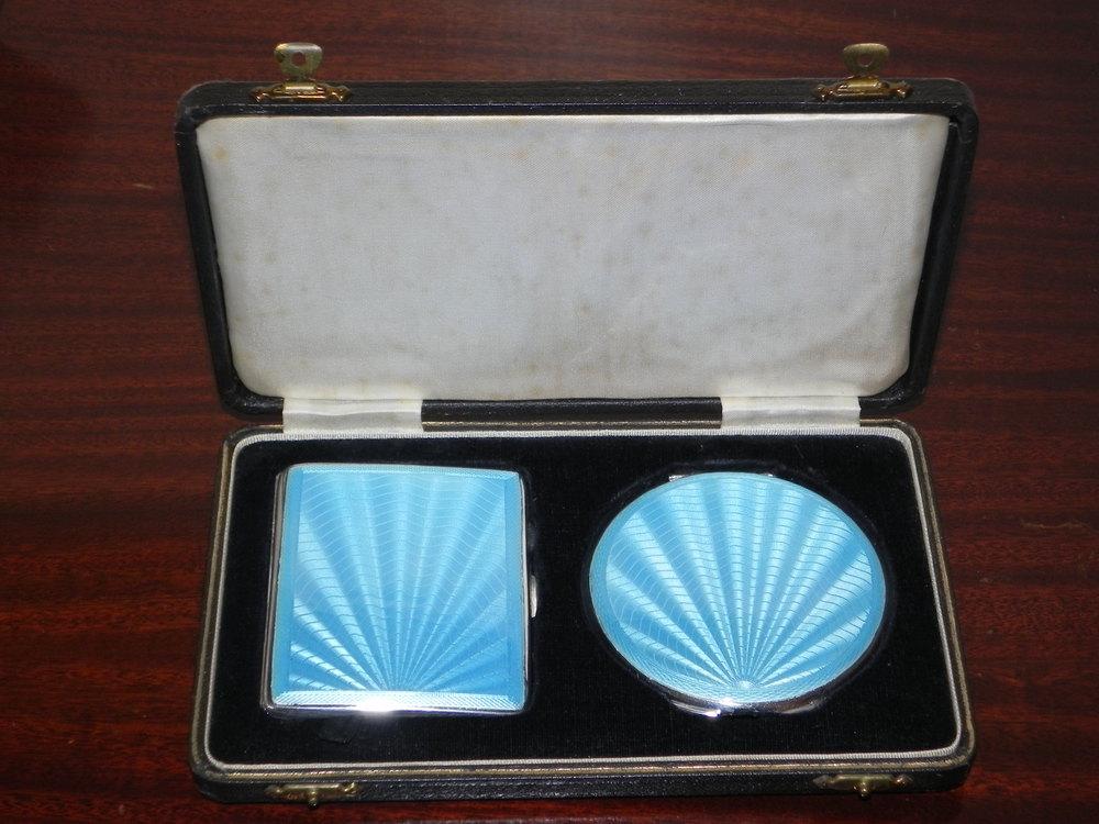 Antiques Atlas - Silver Risque Nude Cigarette Case