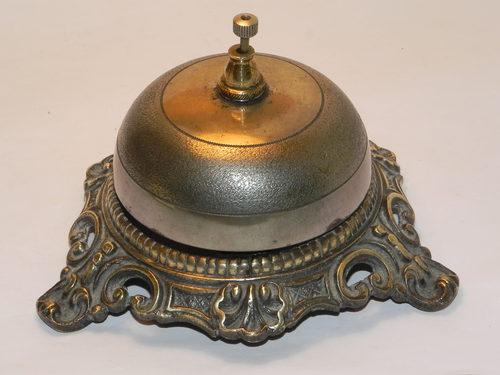 - Antiques Atlas - Victorian Desk Top Brass Bell