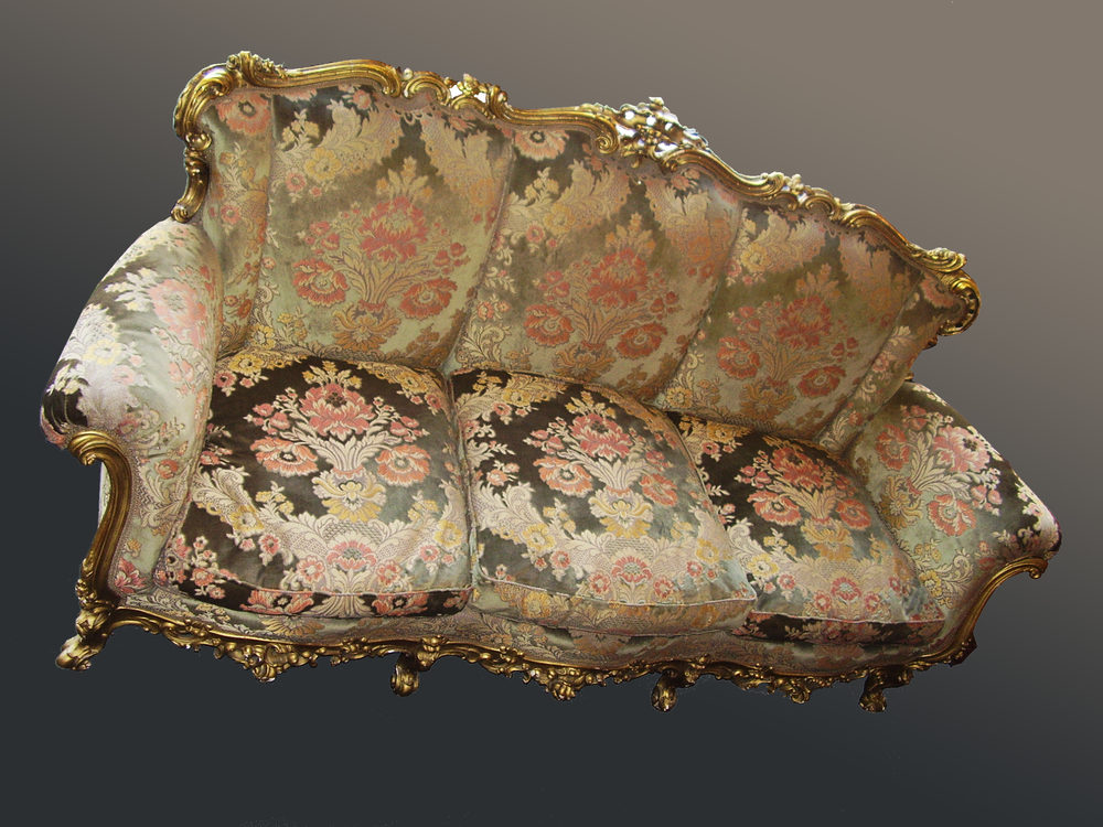 Ornate Carved Italian Sofa Antiques Atlas