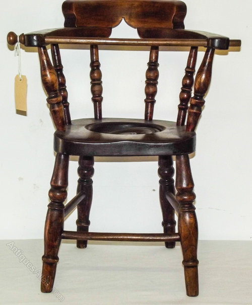 Late Victorian Childs Potty Chair ...