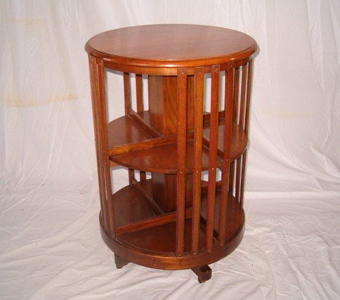 Circular Oak Revolving Bookcase Antiques Atlas