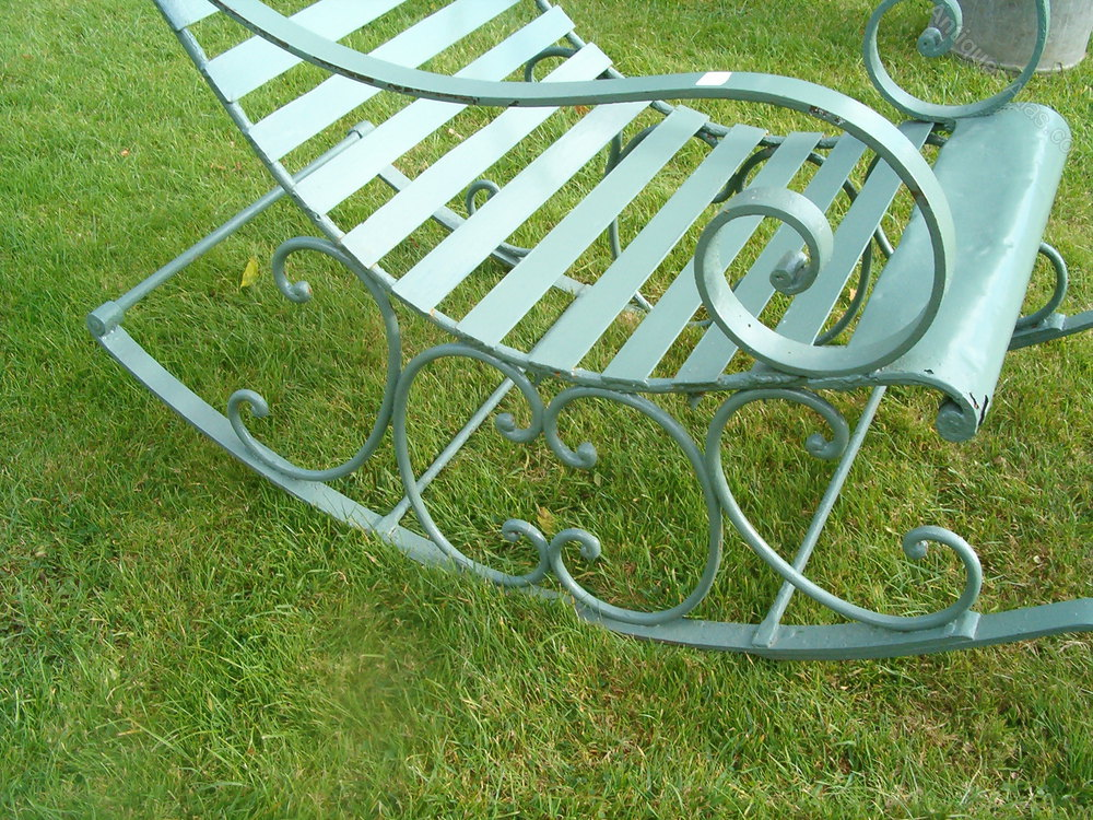 antiques atlas victorian metal rocking chair