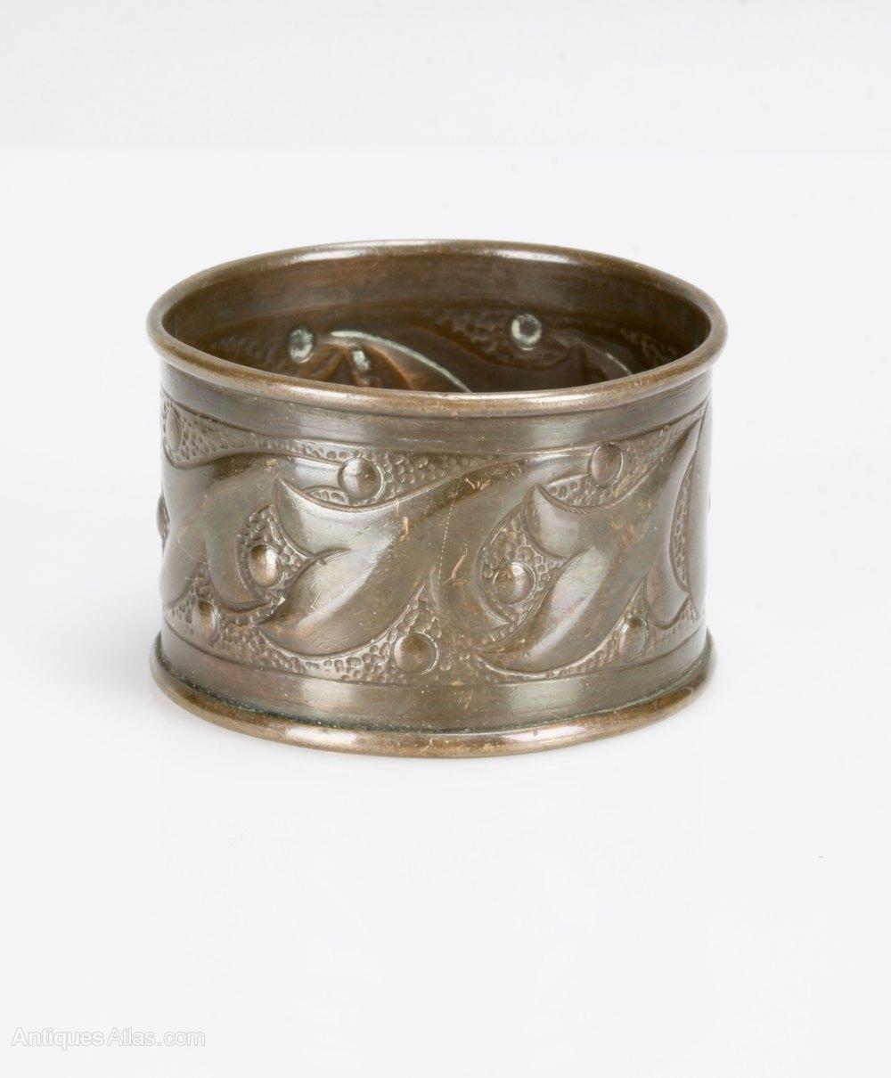Antiques Atlas Keswick Arts Crafts Copper Napkin Ring