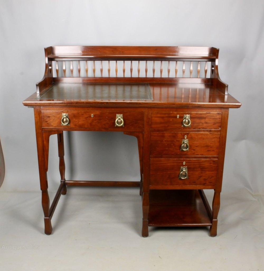 Shapland And Petter Arts Crafts Desk C1900 Antique