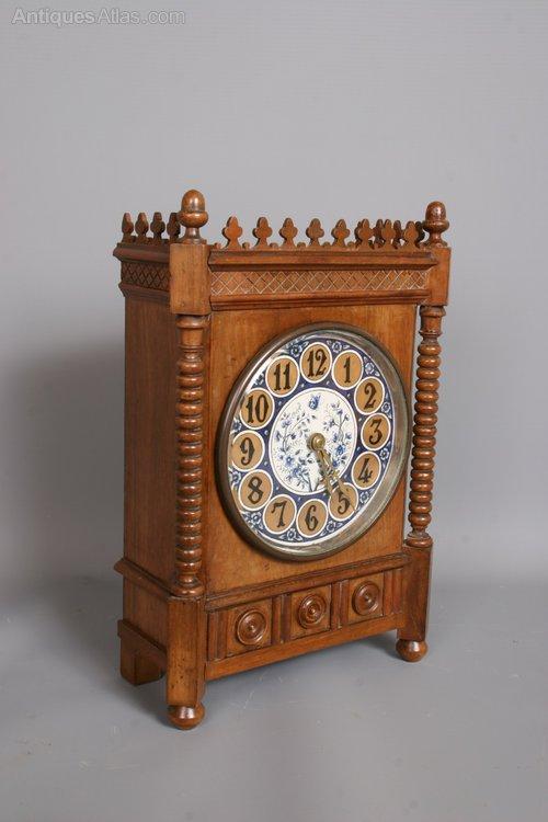 Antiques Atlas Victorian Aesthetic Movement Mantel Clock