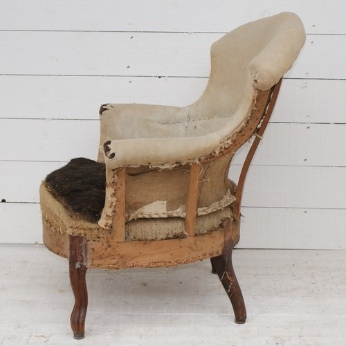 Antique French Armchair Upholstery Inclusive Antiques Atlas