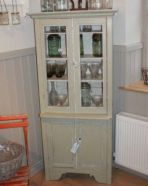 Antique French Glazed Dresser