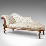 Antique couches sofas settees seating and upholstered fur antiques atlas - Chaise longue in english ...