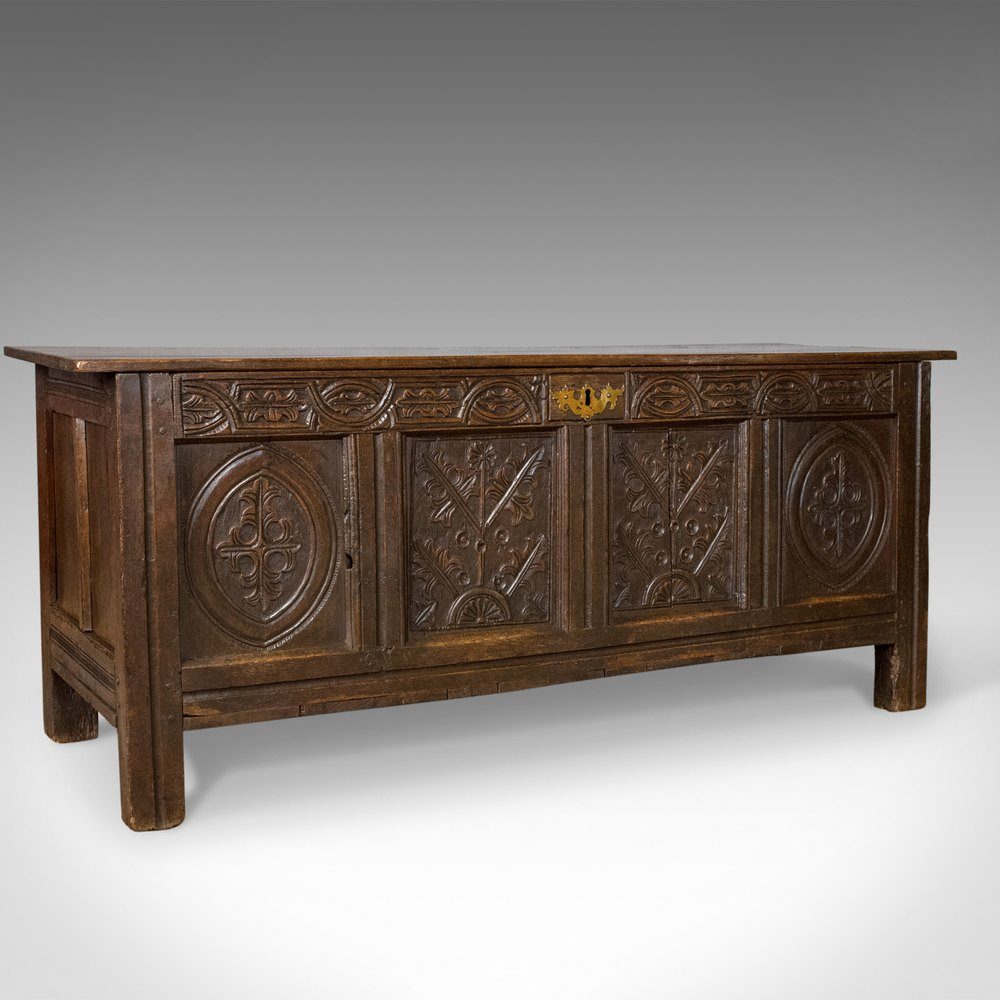 dating antique coffers Jayne thompson antiques inc facebook dressers and coffers sort by date, old to a carved oak coffer with three panels across the front view 1.