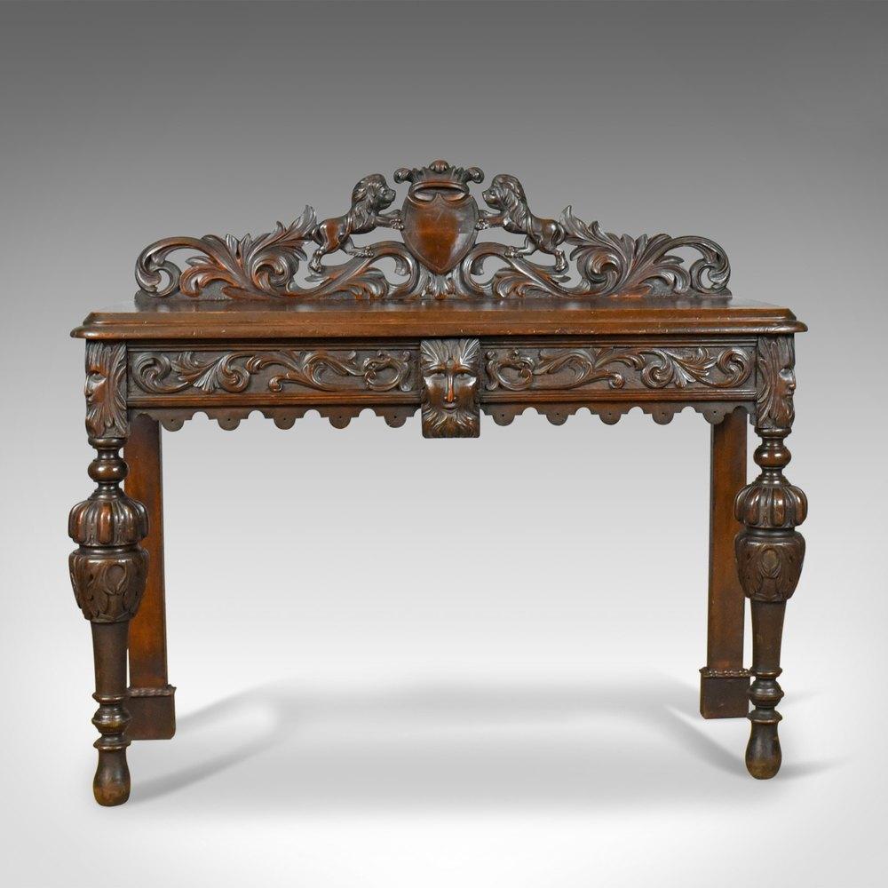 ... Scottish Antique Console Tables ...