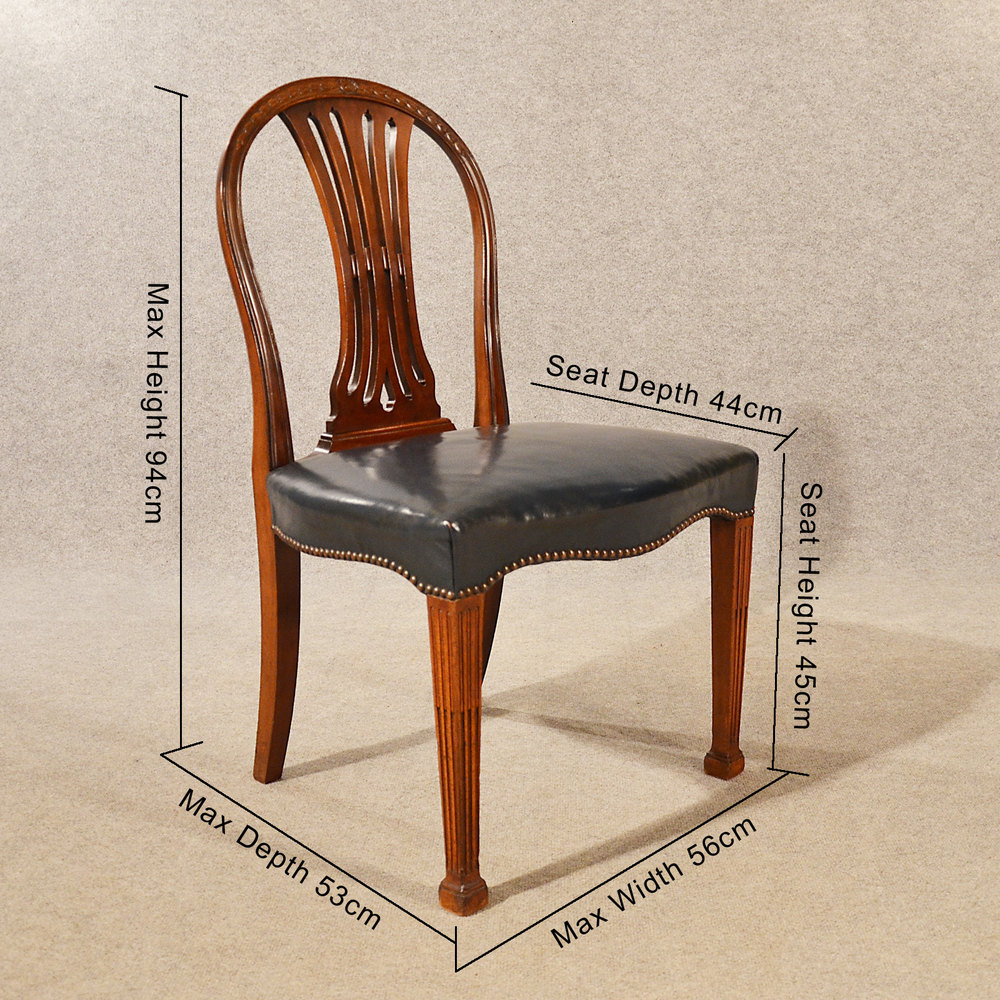 Antique Dining Chairs Leather Wide Seat Victorian Chair Sets Of 4 Antique  Dining Chairs ...