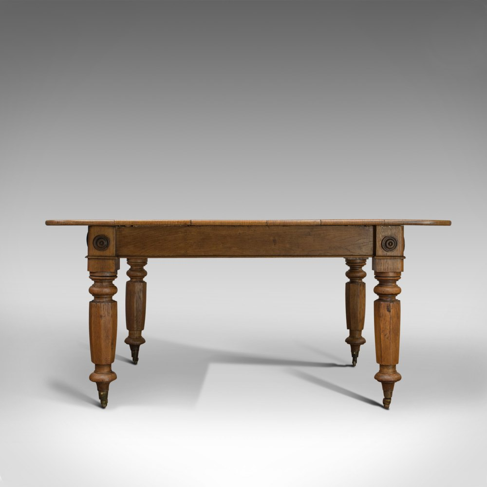 Prime Antique Dining Table English Victorian Oak Download Free Architecture Designs Pushbritishbridgeorg