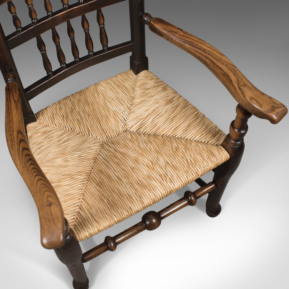 Antique Elbow Chair Victorian Lancashire Spindle  : AntiqueElbowChairVictorianas272a2551z 2 from mail.antiques-atlas.com size 1000 x 1000 jpeg 173kB