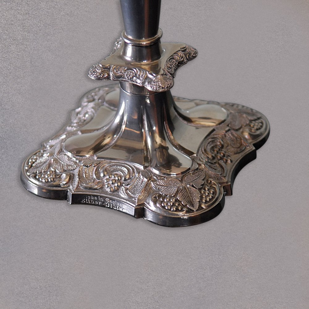 Antiques Atlas Antique English Silver Plated Candelabra