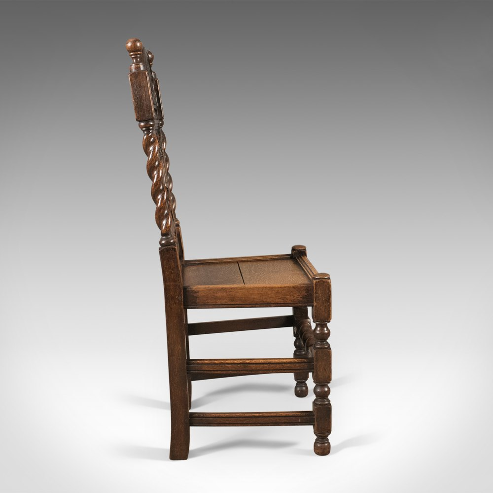 Foyer Chair Quotes : Antique flemish hall chair carved oak c antiques atlas