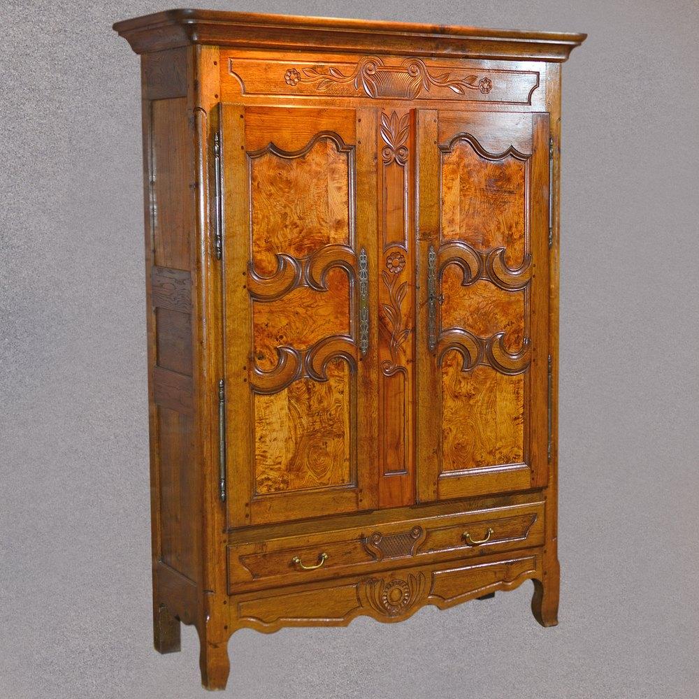 Antique Linen Closet : Antique french armoire linen press cupboard antiques atlas