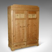 ... Antique French Wardrobe Pine C