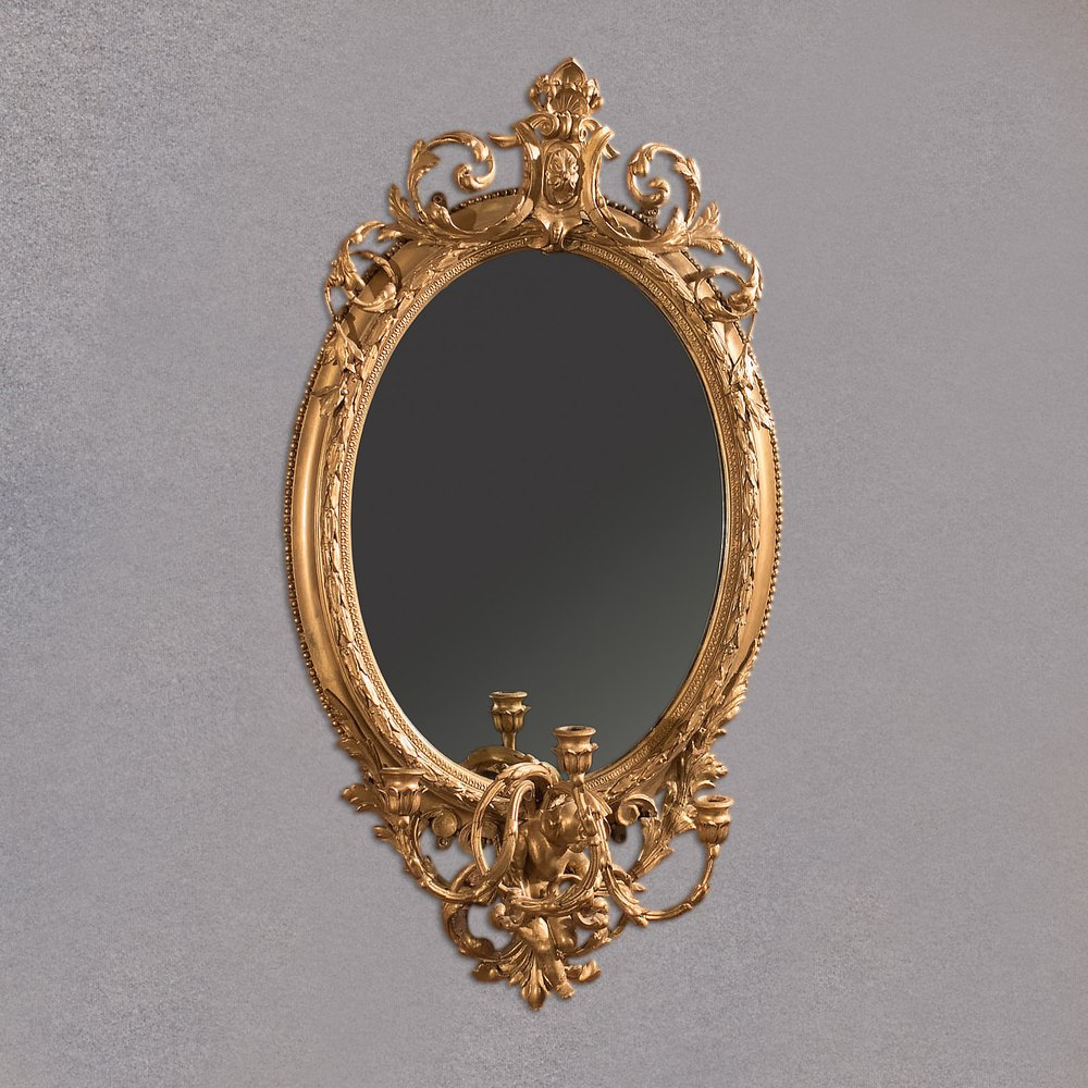 dating antique mirrors