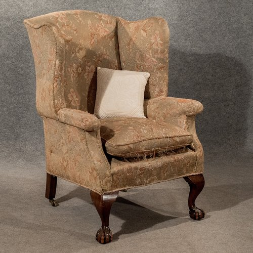 Antique Large Wing Armchair Wingback Fire Side Antiques Atlas