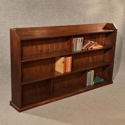 Antique Long Bookcase Large Library Cabinet ... - Antique Long Bookcase Large Library Cabinet - Antiques Atlas