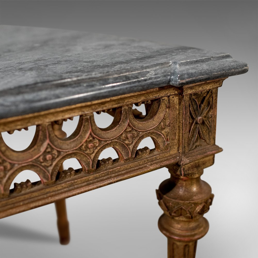 Antique Marble Top Gilt French Coffee Side Table Antiques Atlas
