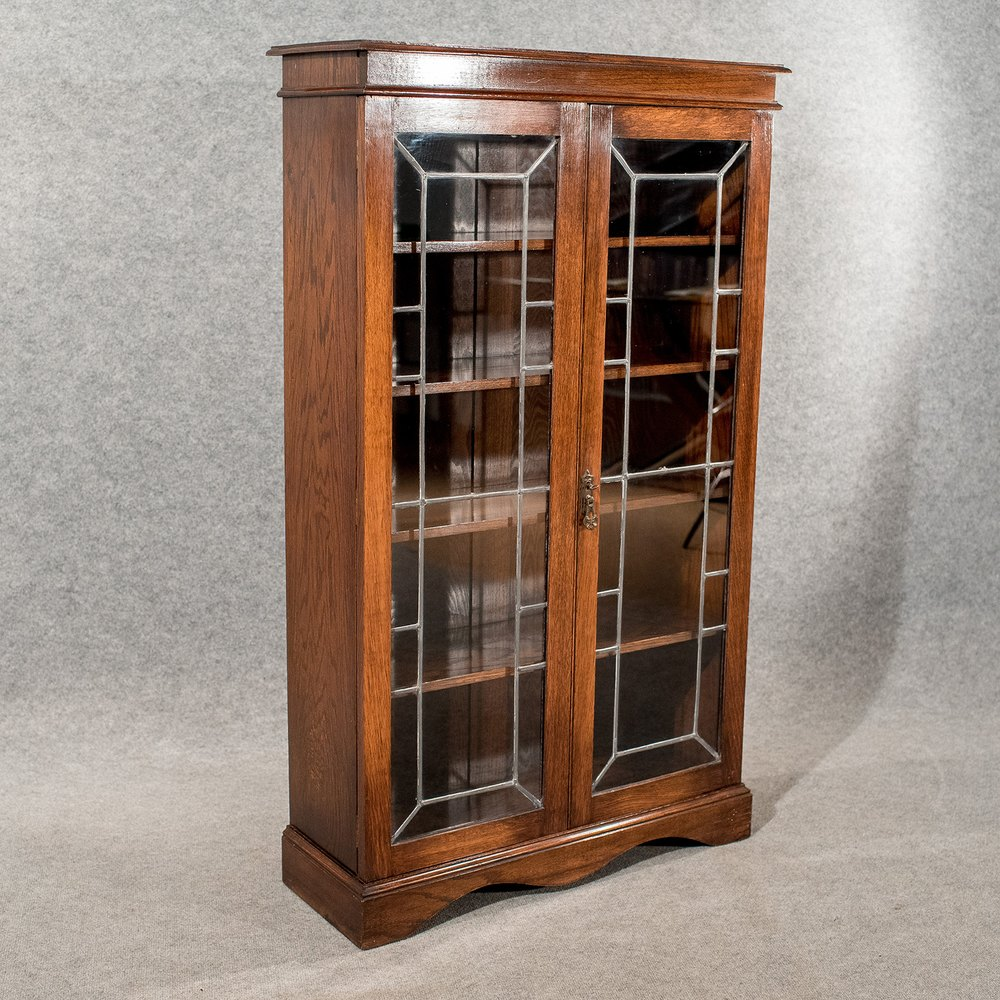 antique oak display cabinet antique oak display bookcase china cabinet quality 4118