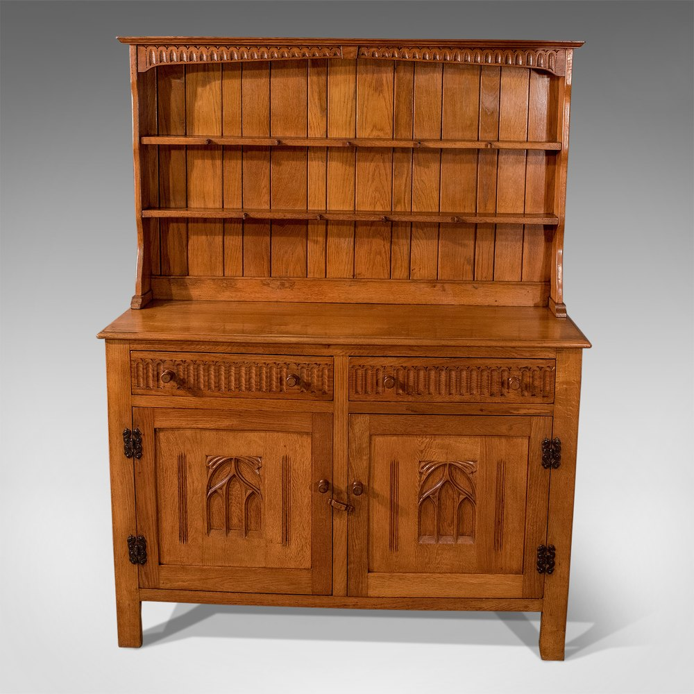 antique oak kitchen cabinet antiques atlas antique oak kitchen display dresser cabinet 10665