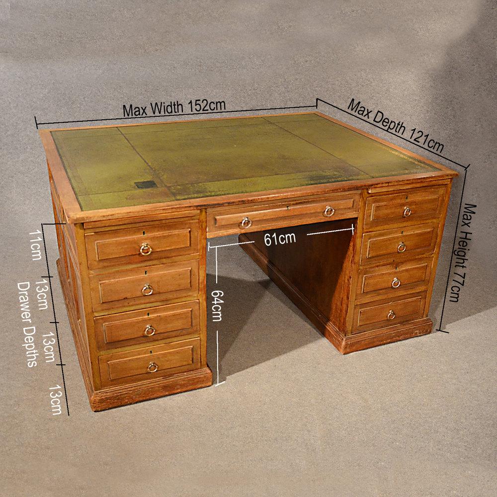 Antique Partners Desks
