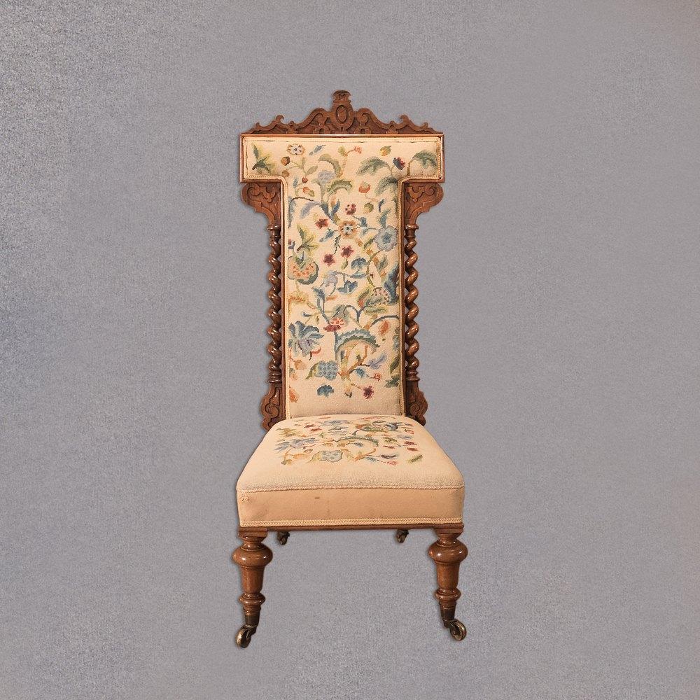 Antique Prie Dieu Chair, Victorian Rosewood c.1850 Antique Prayer Chairs ... - Antique Prie Dieu Chair, Victorian Rosewood C.1850 - Antiques Atlas