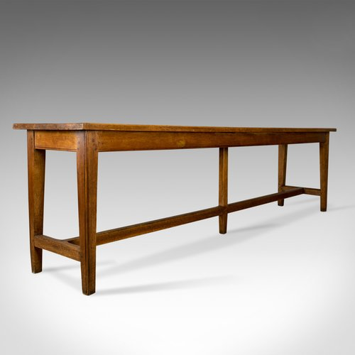 Antique Refectory Table Victorian